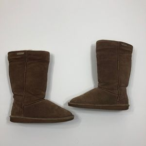 """BearPaw """"Emma"""" Tall Boots in Hickory size 8"""